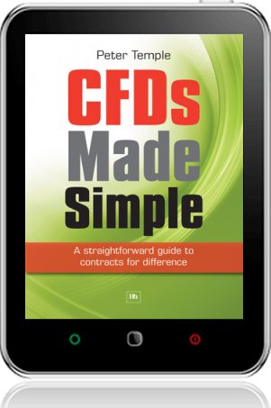 Cover of CFDs Made Simple on Tablet by Peter Temple