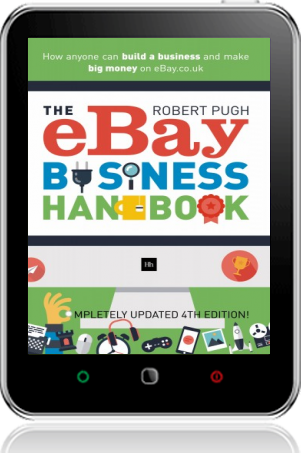 Cover of The eBay Business Handbook on Tablet by Robert Pugh