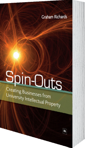 Cover of Spin-Outs (Hardback) by Graham Richards