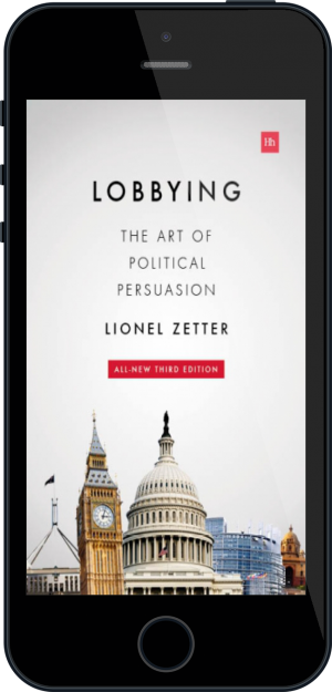 Cover of Lobbying on Mobile by Lionel Zetter