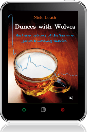 Cover of Dunces with Wolves on Tablet by Nick Louth