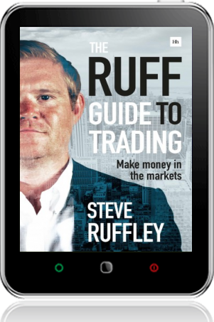 Cover of The Ruff Guide to Trading on Tablet by Steve Ruffley