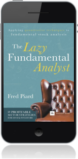 Cover of The Lazy Fundamental Analyst on Mobile by Fred Piard