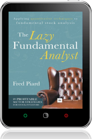 Cover of The Lazy Fundamental Analyst on Tablet by Fred Piard