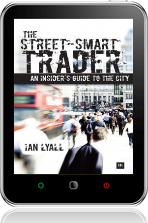 Cover of The Street-Smart Trader on Tablet by Ian Lyall