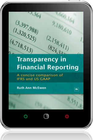 Cover of Transparency in Financial Reporting on Tablet by Ruth Ann McEwen