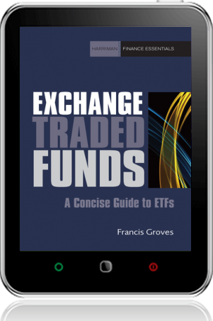 Cover of Exchange Traded Funds on Tablet by Francis Groves