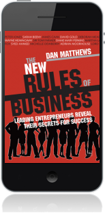 Cover of The New Rules of Business on Mobile by Dan Matthews