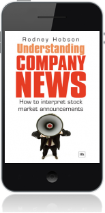 Cover of Understanding Company News on Mobile by Rodney Hobson