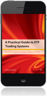 Cover of A Practical Guide to ETF Trading Systems on Mobile by Anthony Garner