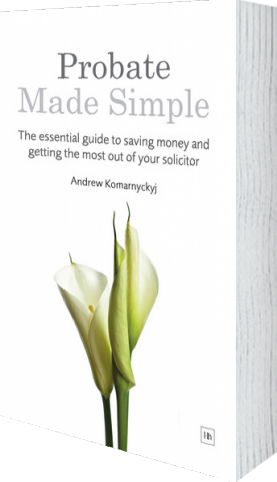 Cover of Probate Made Simple by Andrew Komarnyckyj