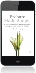 Cover of Probate Made Simple on Mobile by Andrew Komarnyckyj