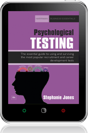 Cover of Psychological Testing on Tablet by Stephanie Jones