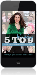 Cover of Working 5 to 9 on Mobile by Emma Jones