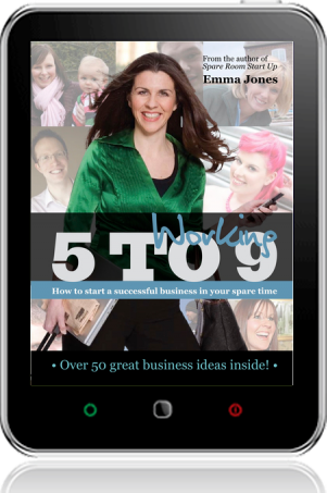 Cover of Working 5 to 9 on Tablet by Emma Jones