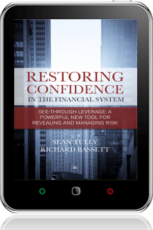 Cover of Restoring Confidence In The Financial System on Tablet by Sean Tully andRichard Bassett