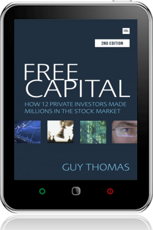 Cover of Free Capital on Tablet by Guy Thomas