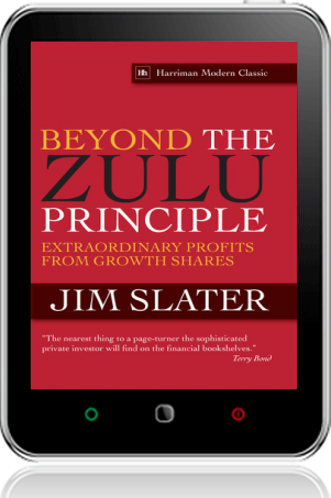 Cover of Beyond The Zulu Principle on Tablet by Jim Slater