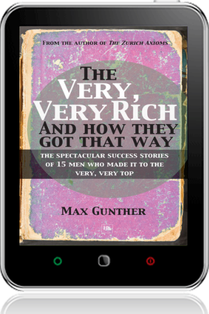 Cover of The Very, Very Rich and How They Got That Way on Tablet by Max Gunther