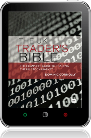 Cover of The UK Trader's Bible on Tablet by Dominic Connolly