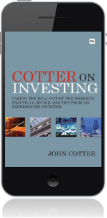 Cover of Cotter On Investing on Mobile by John Cotter