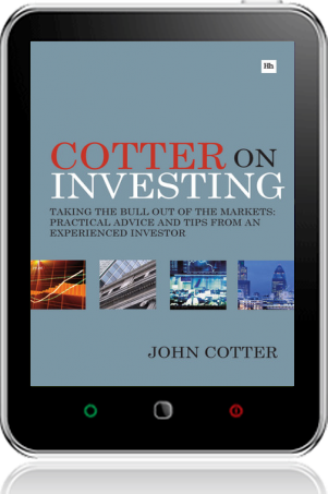 Cover of Cotter On Investing on Tablet by John Cotter
