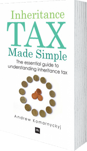 Cover of Inheritance Tax Made Simple by Andrew Komarnyckyj