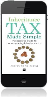 Cover of Inheritance Tax Made Simple on Mobile by Andrew Komarnyckyj