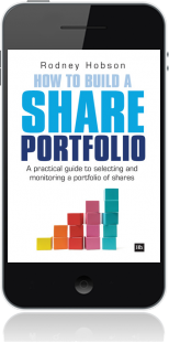 Cover of How to Build a Share Portfolio on Mobile by Rodney Hobson