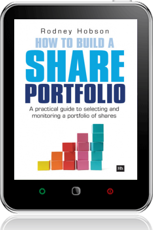 Cover of How to Build a Share Portfolio on Tablet by Rodney Hobson