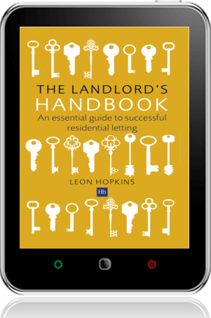 Cover of The Landlord's Handbook on Tablet by Leon Hopkins