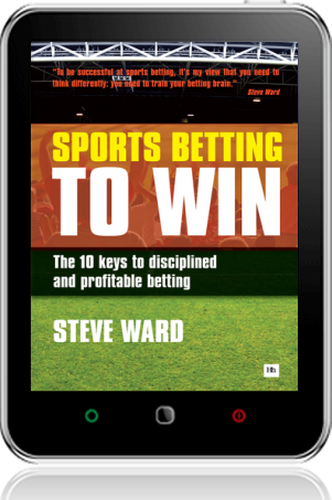 Cover of Sports Betting to Win on Tablet by Steve Ward