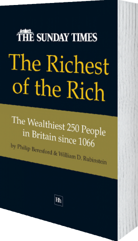 Cover of The Richest of the Rich by Philip Beresford and William D. Rubinstein