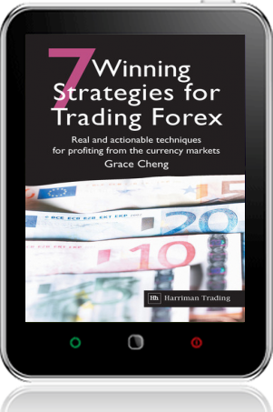 Cover of 7 Winning Strategies For Trading Forex on Tablet by Grace Cheng