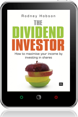 Cover of The Dividend Investor on Tablet by Rodney Hobson