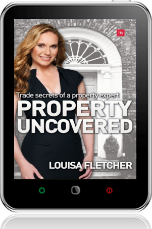 Cover of Property Uncovered on Tablet by Louisa Fletcher