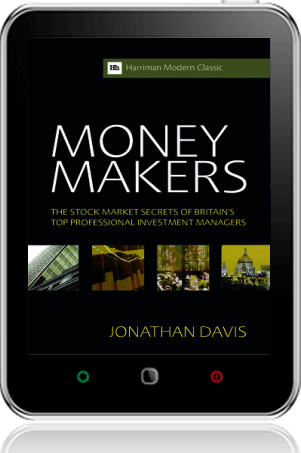 Cover of Money Makers on Tablet by Jonathan Davis