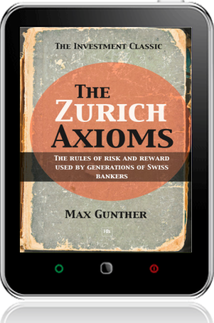 Cover of The Zurich Axioms on Tablet by Max Gunther