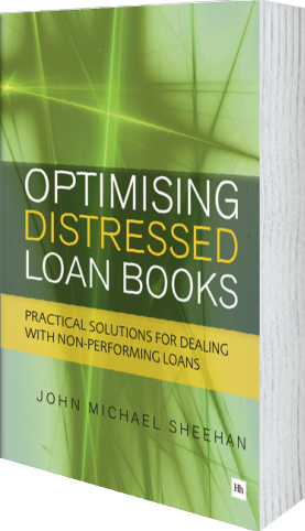 Cover of Optimising Distressed Loan Books by John Michael Sheehan