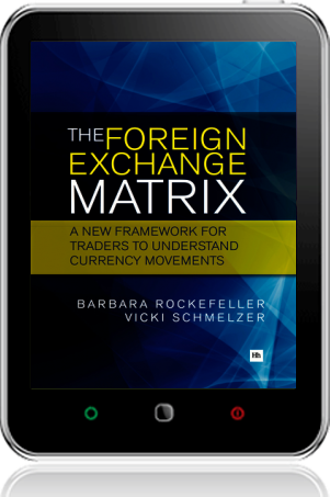 Cover of The Foreign Exchange Matrix on Tablet by Barbara Rockefeller and Vicki Schmelzer