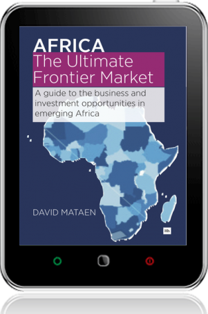 Cover of Africa - The Ultimate Frontier Market on Tablet by David Mataen