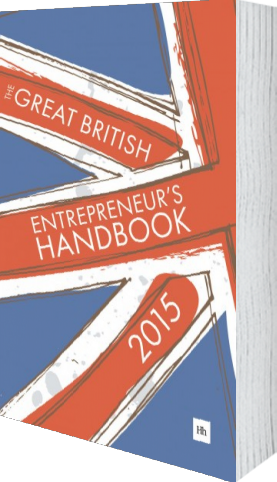 Cover of The Great British Entrepreneur's Handbook 2015 by Simon Burton