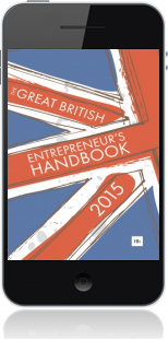 Cover of The Great British Entrepreneur's Handbook 2015 on Mobile by Simon Burton