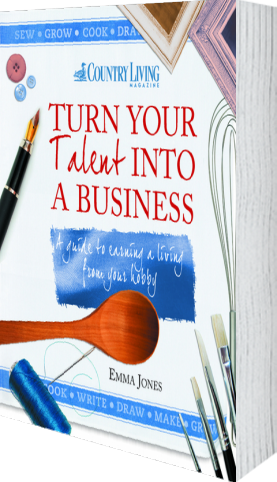 Cover of Turn Your Talent into a Business (Paperback) by Emma Jones andCountry Living