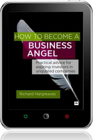 Cover of How To Become A Business Angel on Tablet by Richard Hargreaves