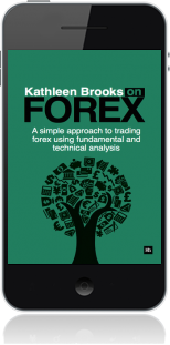 Cover of Kathleen Brooks on Forex on Mobile by Kathleen Brooks