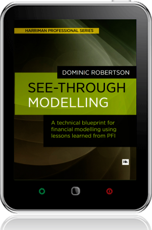 Cover of See-Through Modelling on Tablet by Dominic Robertson