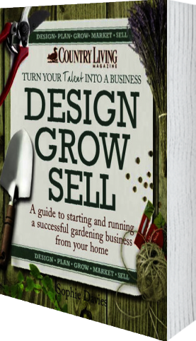 Cover of Design Grow Sell (Hardback) by Sophie Davies