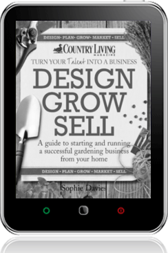 Cover of Design Grow Sell (Tablet BW)
