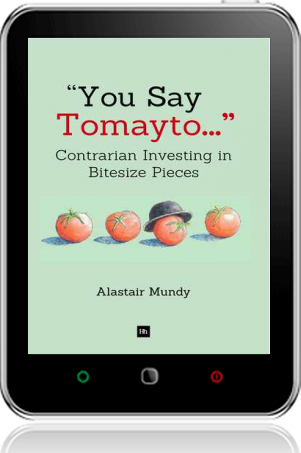 Cover of You Say Tomayto on Tablet by Alastair Mundy